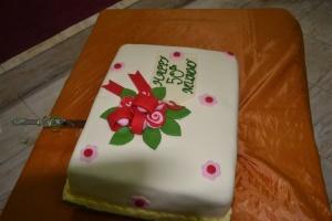 Mum's birthday cake(28/08/2012)
