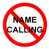 Say No to Name Calling