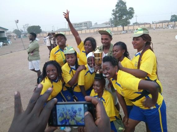 Platoon 6 volleyball team